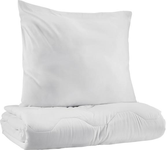 Posteljni Set Sabine - bela, tekstil - Based