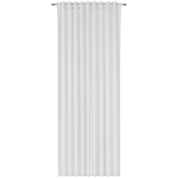 Fertigvorhang Gerda in Weiß ca. 140x245cm - Weiß, ROMANTIK / LANDHAUS, Textil - Mömax modern living