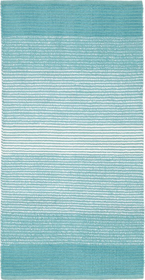 Fleckerlteppich Malto - Hellblau, MODERN, Textil (100/150cm) - MÖMAX modern living