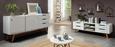 Phonotisch Weiß/Naturfarben - Naturfarben/Weiß, MODERN, Holz/Holzwerkstoff (150/47,5/45cm) - Mömax modern living