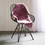 Kunstfell Marlene in Rosa ca. 90x60cm - Rosa, Textil (90/60cm) - Mömax modern living