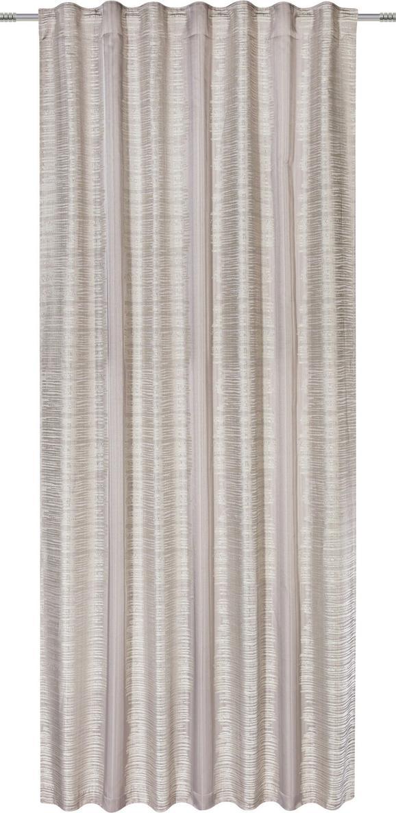 Končana Zavesa Maxima - siva, Trendi, tekstil (140/245cm) - Mömax modern living