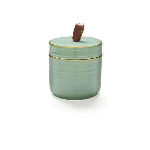 Okrasna Posoda Irina - zlata/zelena, keramika (8/8/7,5cm) - Mömax modern living