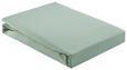 Spannleintuch Basic Hellgrün 180x200 cm - Hellgrün, Textil (180/200cm) - Mömax modern living