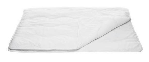 Sommerdecke Zilly, ca. 135-140x200cm - Weiß, Textil (135/200cm) - Nadana