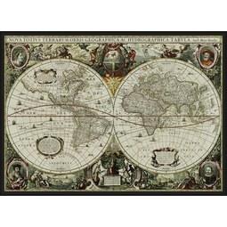 Keilrahmenbild Lucie, ca. 144x104x4,3cm - Multicolor/Schwarz, MODERN, Holz/Textil (144/104/4,3cm) - Mömax modern living