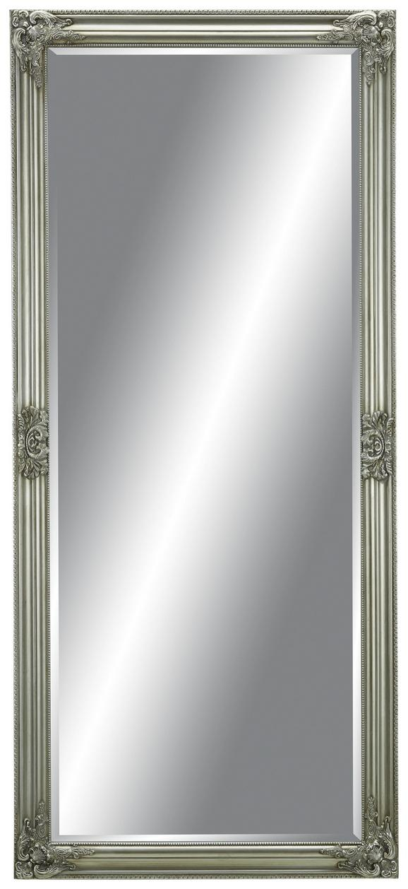 Wandspiegel in Silberfarben - Silberfarben, MODERN, Glas/Holz (72/162/3cm) - Mömax modern living