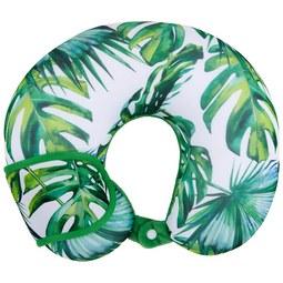Nackenhörnchen Tropical verschiedene Farben - Rosa/Hellblau, Textil (30/30cm) - Modern Living