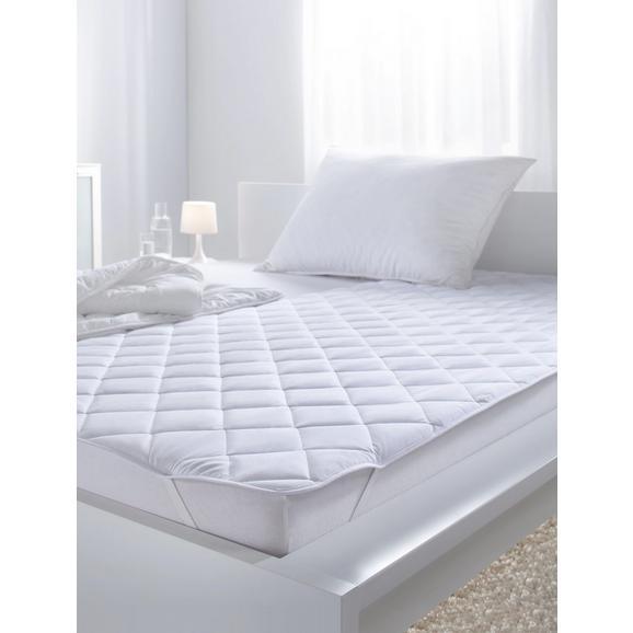 Unterbett in Weiß ca. 95x195cm - Weiß, Textil (95/195cm) - Mömax modern living