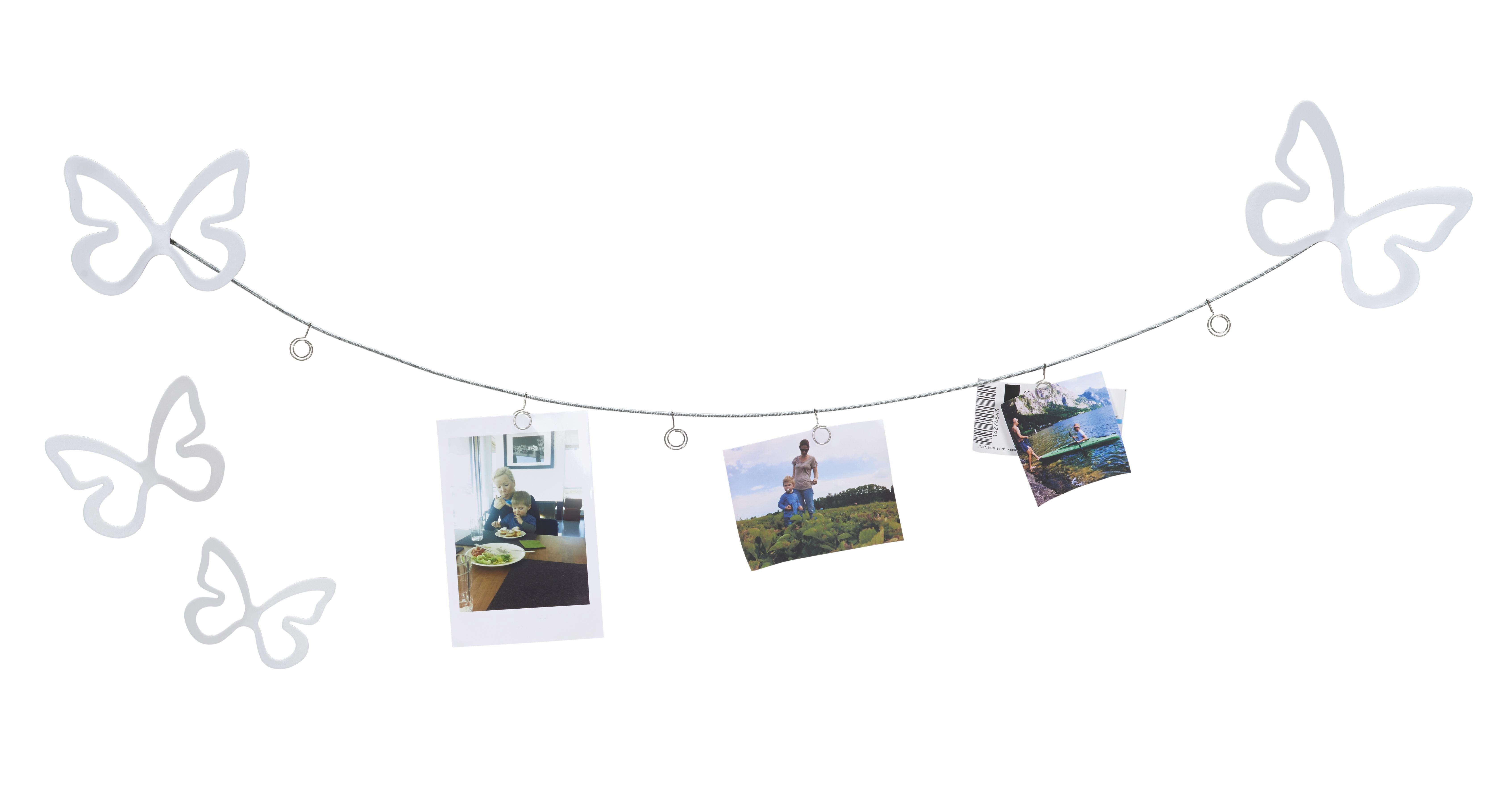 Fotótartó Casius - fehér, modern, műanyag (24/17/15cm) - MÖMAX modern living