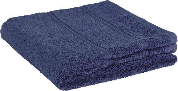Brisača Melanie - modra, tekstil (50/100cm)