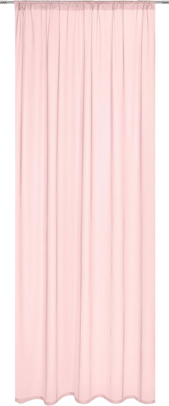 Készfüggöny Thea In Rose, Ca. 140/245cm - Rózsaszín, romantikus/Landhaus, Textil (145/245cm) - Mömax modern living