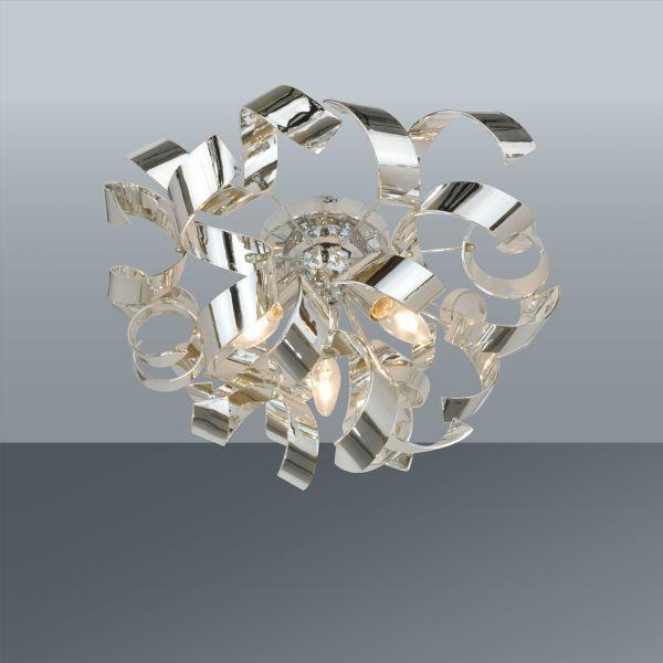 Mennyezeti Lámpa Sila - modern, műanyag/fém (50/28cm) - premium living
