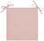 Stuhlkissen Smokey Rosa - Rosa, Textil (40/2,5/40cm) - Mömax modern living