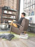 Regal Dunkelbraun - Dunkelbraun, LIFESTYLE, Holz/Metall (160/200/40cm) - Premium Living