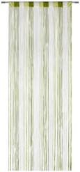 FADENSTORE String Grün/Weiß - Hellgrün/Weiß, Textil (90/245cm) - Premium Living