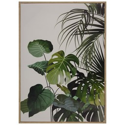 Keilrahmenbild Liam in Bunt ca. 50x70cm - Nussbaumfarben/Multicolor, Holzwerkstoff/Kunststoff (50cm) - Mömax modern living