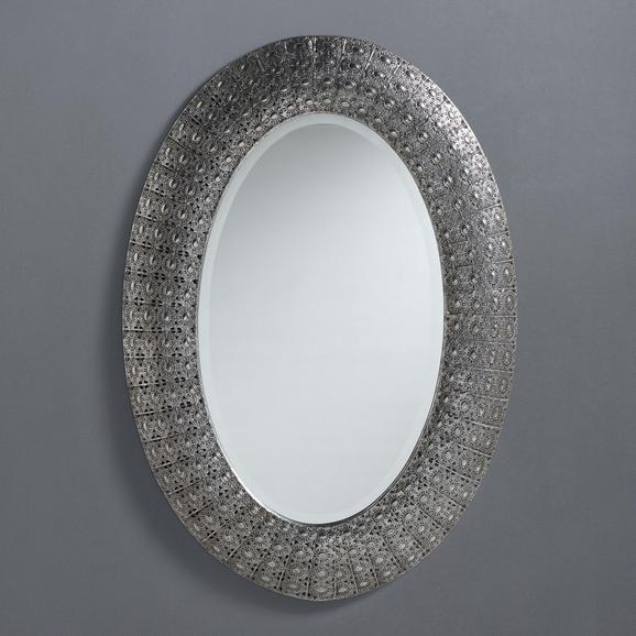 Spiegel Chime ca. 65/92 cm - Klar/Silberfarben, MODERN, Glas/Metall (65/92/4,5cm) - Mömax modern living