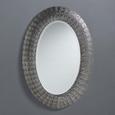 Wandspiegel Chime - Klar/Silberfarben, MODERN, Glas/Metall (65/92/4,5cm) - Mömax modern living