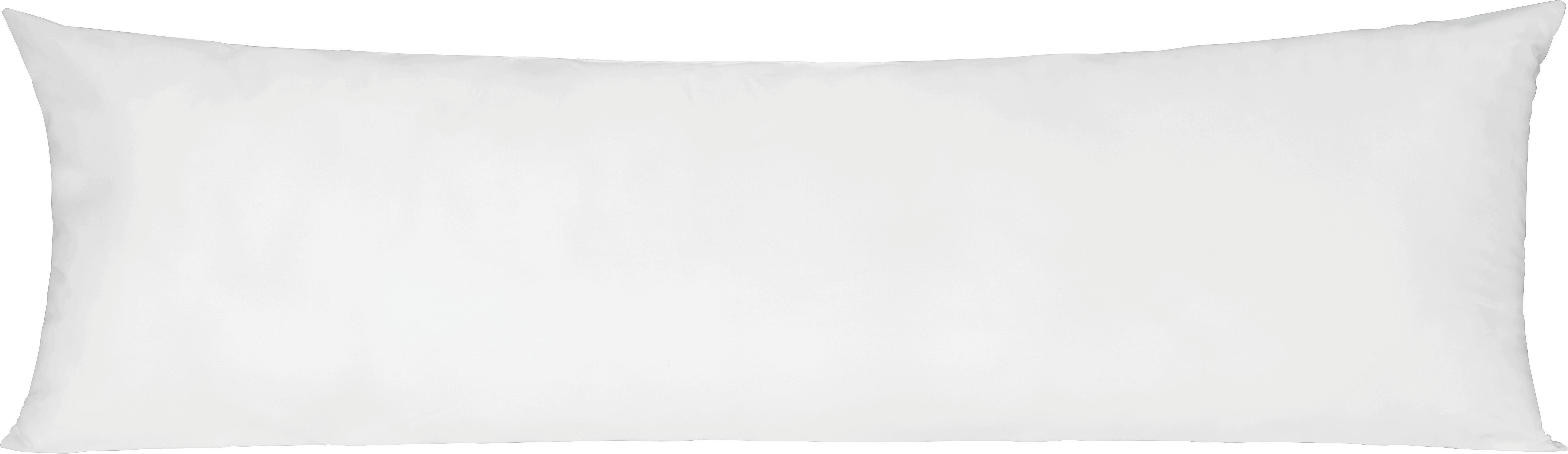 Seitenschläferkissen Lisi in Weiß, ca. 40x120cm - Weiß, Textil (40/120cm) - MÖMAX modern living