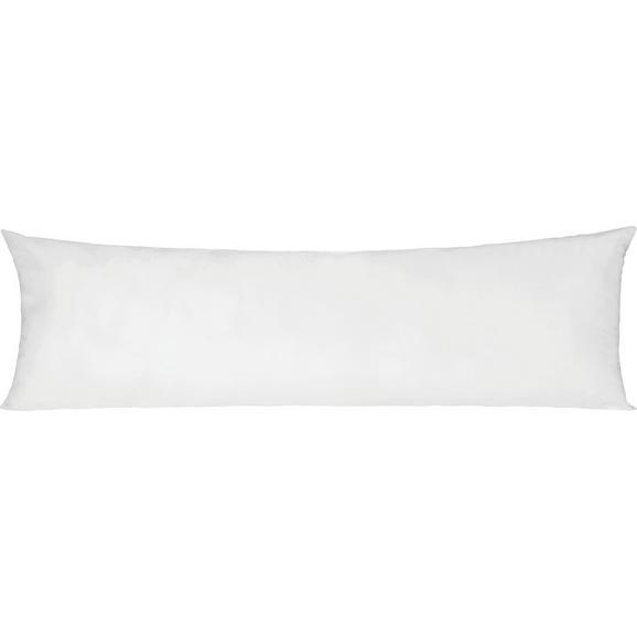 Seitenschläferkissen Lisi in Weiß ca. 40x120cm - Weiß, Textil (40/120cm) - Nadana