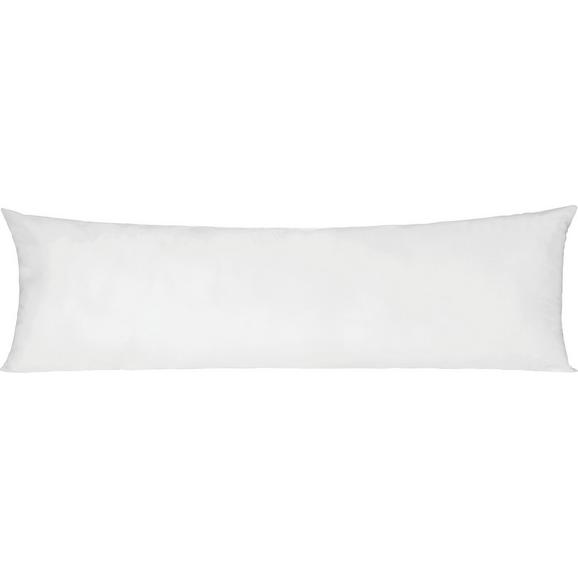 Seitenschläferkissen Lisi Weiß ca. 40x120cm - Weiß, Textil (40/120cm) - Nadana