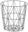 Couchtisch Josie mit Stauraum ca.40x41cm - Schwarz, MODERN, Holz/Metall (40/41cm) - Modern Living