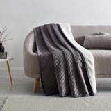 Tagesdecke Rebekka 140x200 cm - Grau, MODERN, Textil (140/200cm) - Mömax modern living