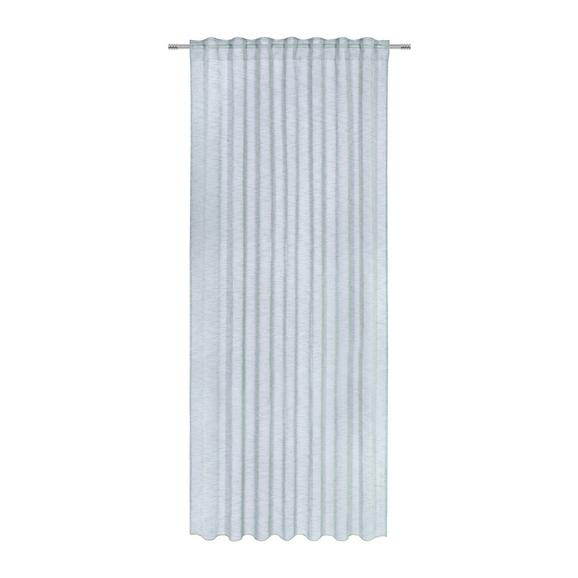 Perdea Prefabricată Sigrid - verde, Romantik / Landhaus, textil (140/245cm) - Premium Living