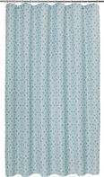 Duschvorhang Spain in Türkis, ca. 180x200cm - Türkis, LIFESTYLE, Textil (180/200cm) - Mömax modern living
