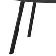 Stuhl Mario - Schwarz/Grau, MODERN, Holz/Textil (39/88/59,5cm) - Modern Living