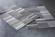 Webteppich Sofia Grau/Grün/Weiß 160x230cm - Weiß/Grau, Textil (160/230cm) - Mömax modern living