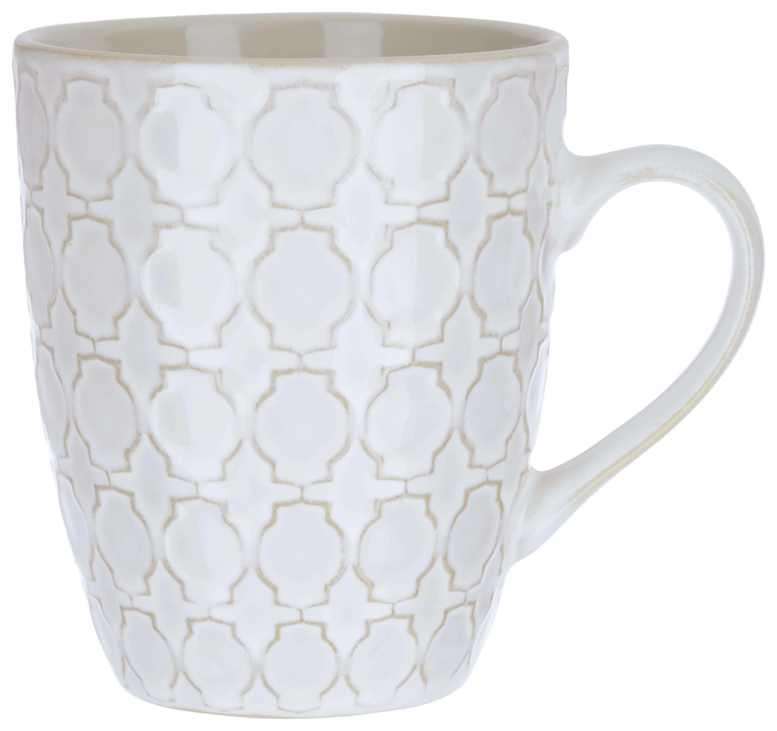 Kaffeebecher Riley in Naturfarben - Naturfarben, LIFESTYLE, Keramik (9,1/10,9cm) - MÖMAX modern living