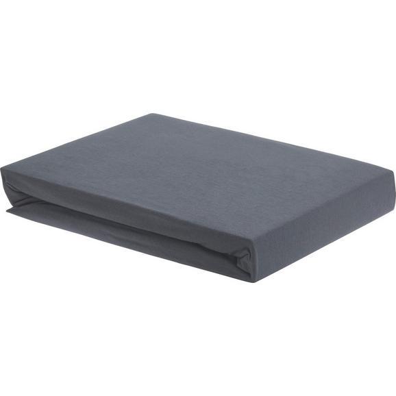 Plahta S Gumicom Elasthan Topper -ext- - antracit, tekstil (160/200/15cm) - Premium Living