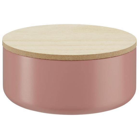 Ékszeres Doboz Mina - Natúr/Pink, Fa (13/6cm) - Mömax modern living