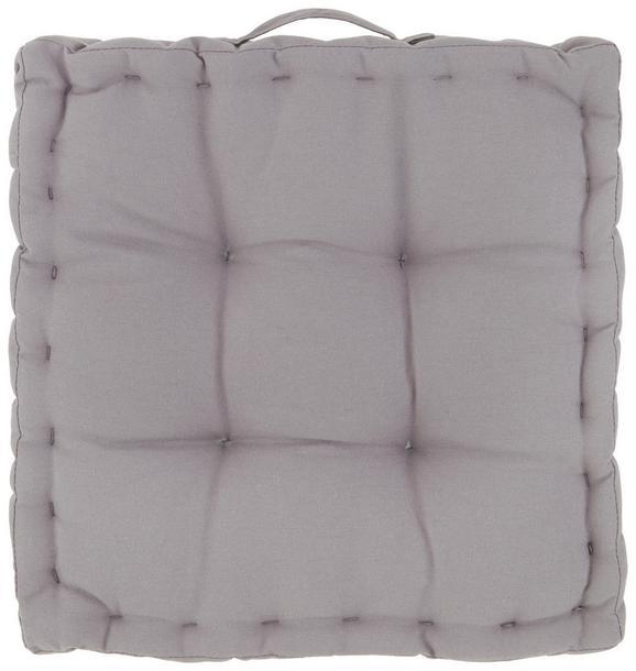 Boxkissen Bill Grau 40x40x9cm - Grau, Textil (40/40/9cm) - Mömax modern living