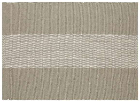 Tischset Lisa in Beige - Beige, MODERN, Textil (33/45cm) - Mömax modern living