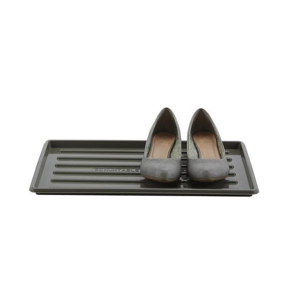 Polica Za Čevlje Roger - siva/črna, umetna masa (30/45cm) - Mömax modern living
