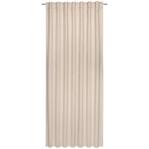 Verdunkelungsvorhang Riccardo ca. 140x245cm - Sandfarben, MODERN, Textil (140/245cm) - Premium Living