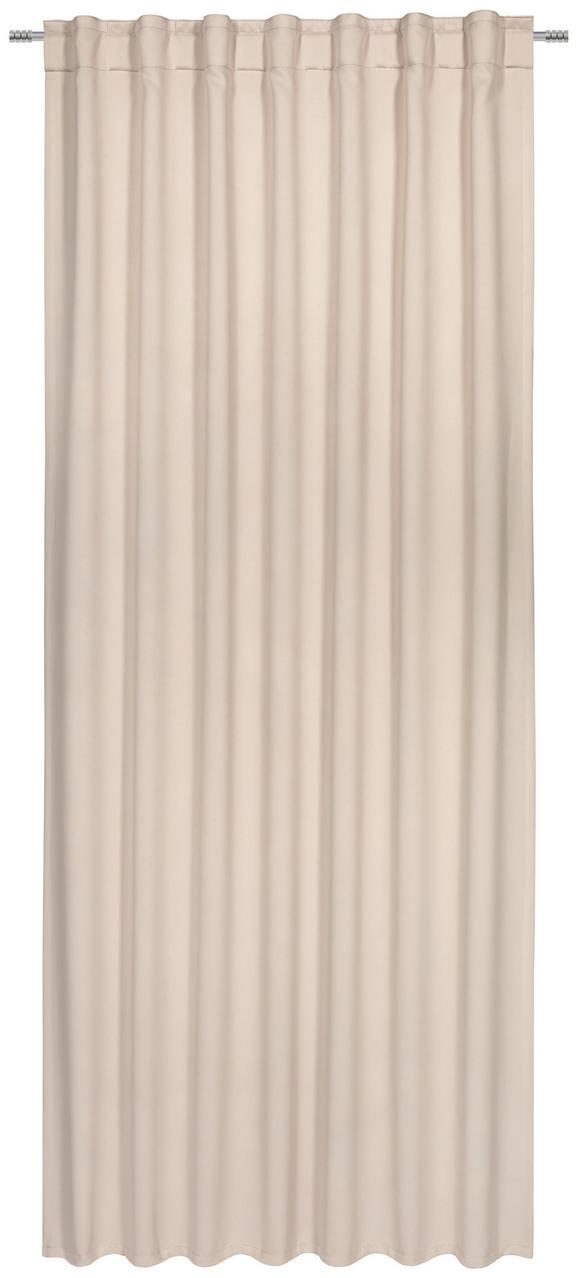 Verdunkelungsvorhang Riccardo, ca. 245x140cm - Sandfarben, MODERN, Textil (245/140cm) - Premium Living