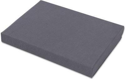 Spannbetttuch Basic ca. 150x200cm - Grau, Textil (150/200cm) - MÖMAX modern living