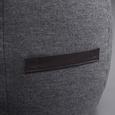 POUF in grau 'Ashley' - Grau, MODERN, Textil (49/49/40cm) - Bessagi Home