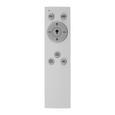 Led Mennyezeti Lámpa Ross - Króm/Opál, romantikus/Landhaus, Műanyag/Fém (70/8cm) - Premium Living