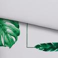 Bettwäsche Wonderful Grün/Weiß 140x200cm - Weiß/Grün, KONVENTIONELL, Textil (140/200cm) - Mömax modern living
