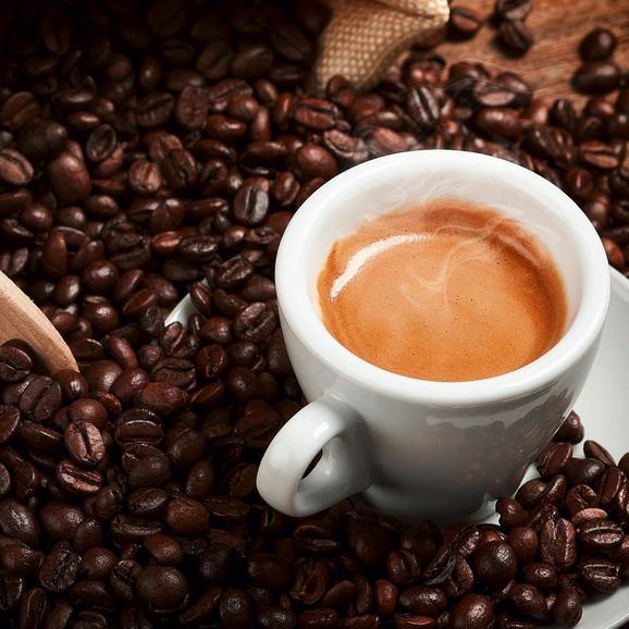 Glasbild Espresso, ca. 30x30x2cm - Multicolor, MODERN, Glas (30/30/2cm) - Mömax modern living