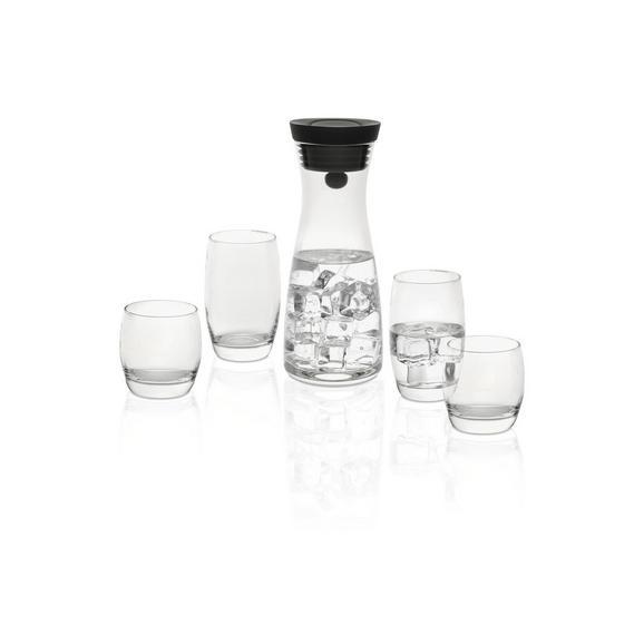 Gläserset Robert, 5-teilig - Klar, MODERN, Glas/Kunststoff - Mömax modern living