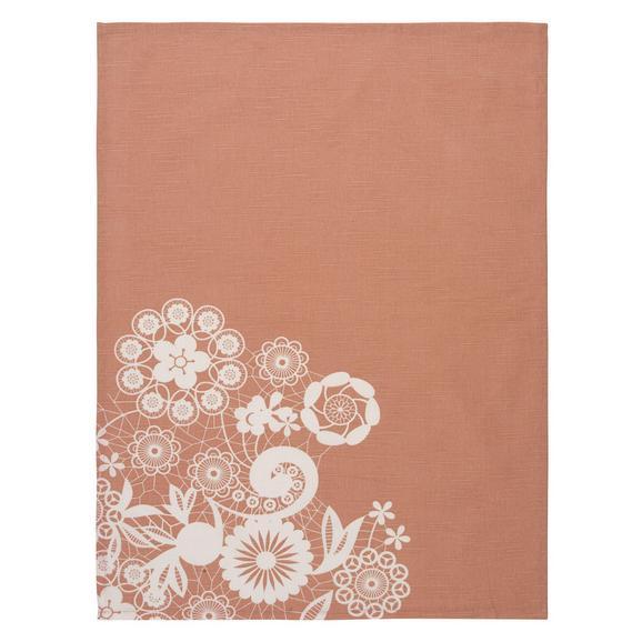 Set Kuhinjskih Krp Lovely - pastelno roza, Romantika, tekstil (18cm) - Mömax modern living