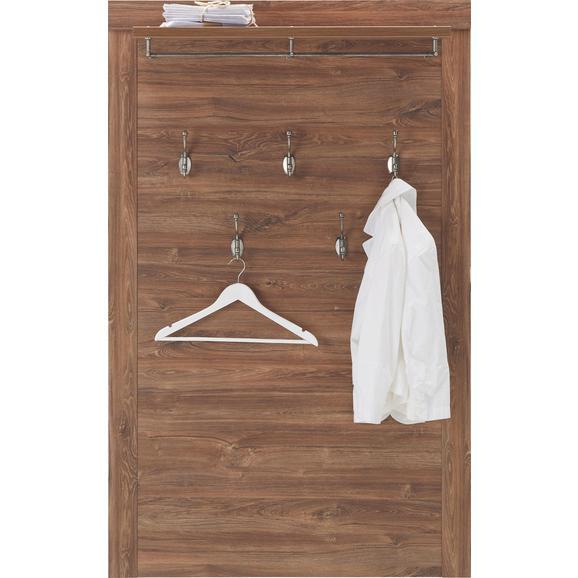 Garderobenpaneel Akaziefarben - Akaziefarben, LIFESTYLE, Holzwerkstoff (100/158/25cm) - Mömax modern living