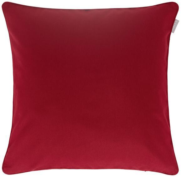 Prevleka Blazine Steffi Paspel - temno rdeča, tekstil (50/50cm) - Mömax modern living