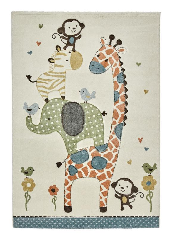 Kinderteppich Moritz Bunt ca. 120x170cm - Multicolor, Textil (120/170cm) - Mömax modern living